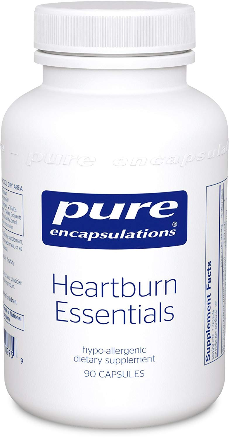 A bottle of Pure Heartburn Essentials