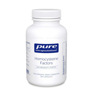 A bottle of Pure Homocysteine Factors