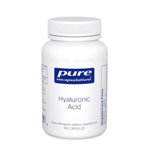 A bottle of Pure Hyaluronic Acid
