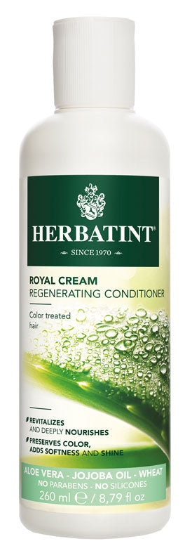 A bottle of Herbatint Royal Cream Rinse Conditioner