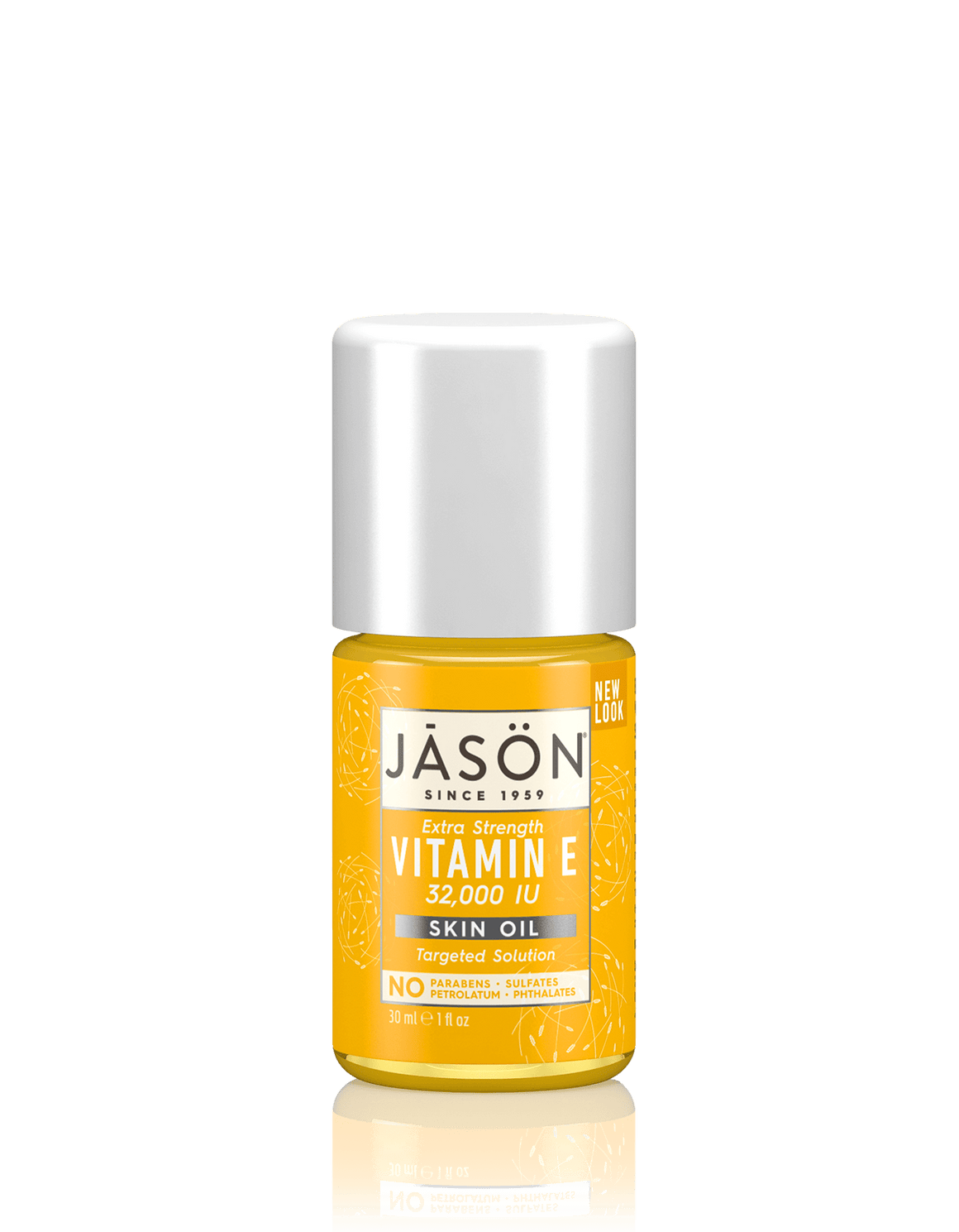 A bottle of Jason Vitamin E 32,000 IU Extra Strength Skin Oil