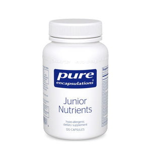 A bottle of Pure Junior Nutrients