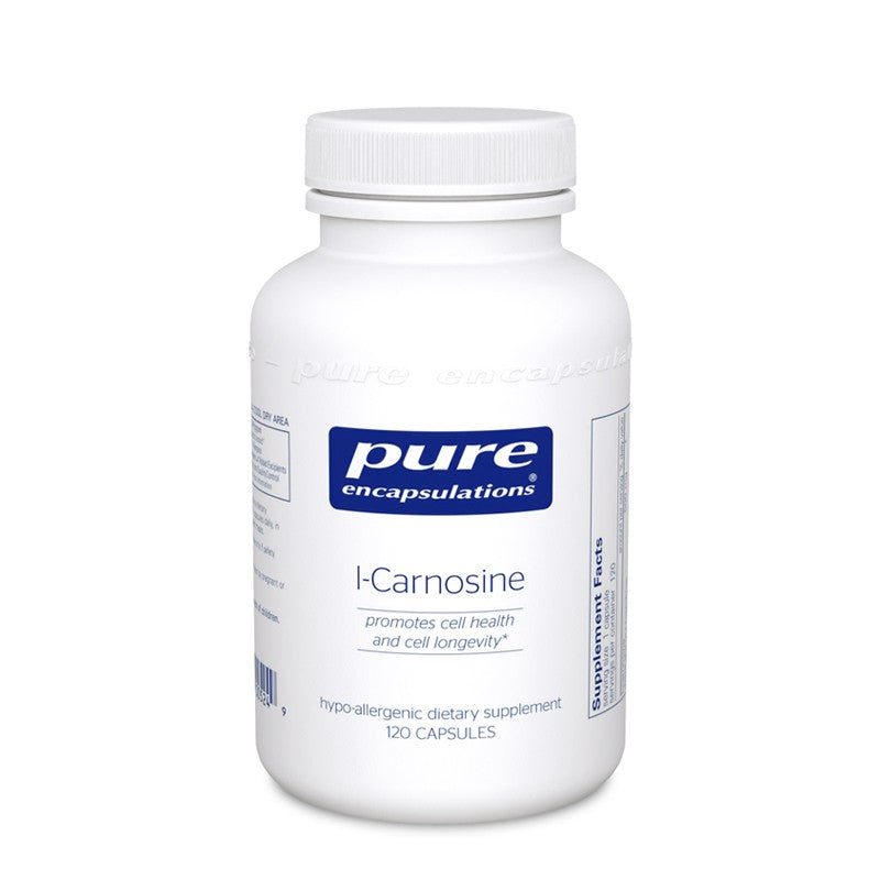A bottle of Pure l-Carnosine