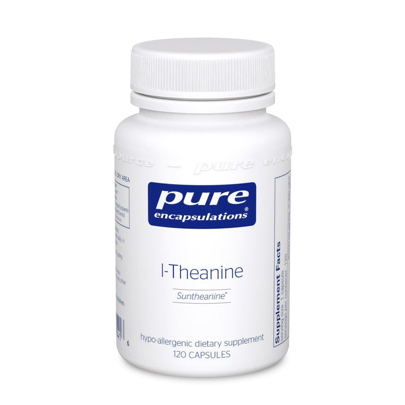 A bottle of Pure l-Theanine