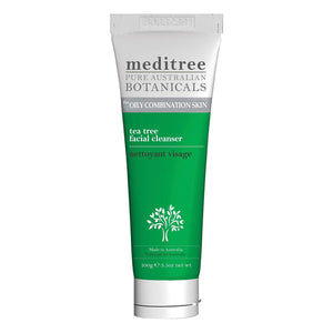 A tube of MediTree Tea Tree Facial Cleanser