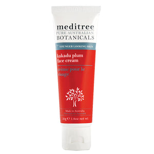 A tube of Meditree Kakadu Plum Face Cream