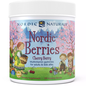 Nordic Berries - Cherry Berry - Nordic Naturals - 120 gummies