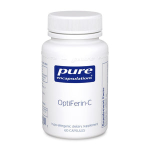 A bottle of Pure OptiFerin-C