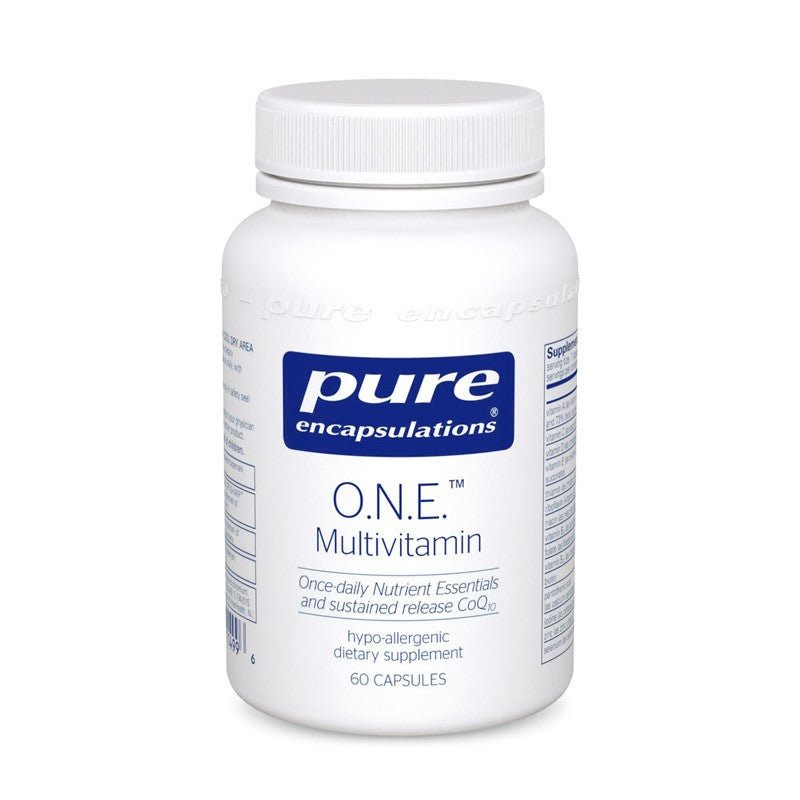 A bottle of Pure O.N.E.™ Multivitamin
