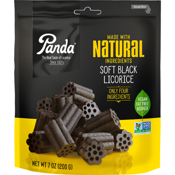 Natural Soft Black Licorice