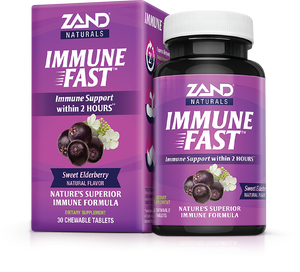 Immune Fast Natural Flavor  - Zand Naturals - 30 chewable tablets