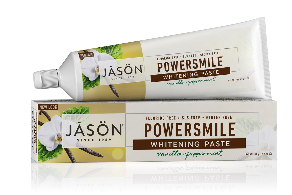 Powersmile® Whitening Paste Vanilla Peppermint - Jason