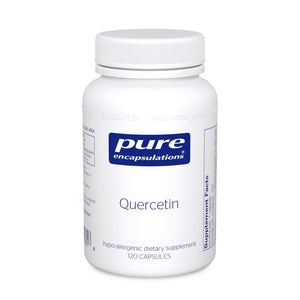 A bottle of Pure Quercetin