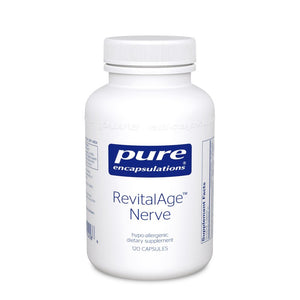 A bottle of Pure RevitalAge™ Nerve