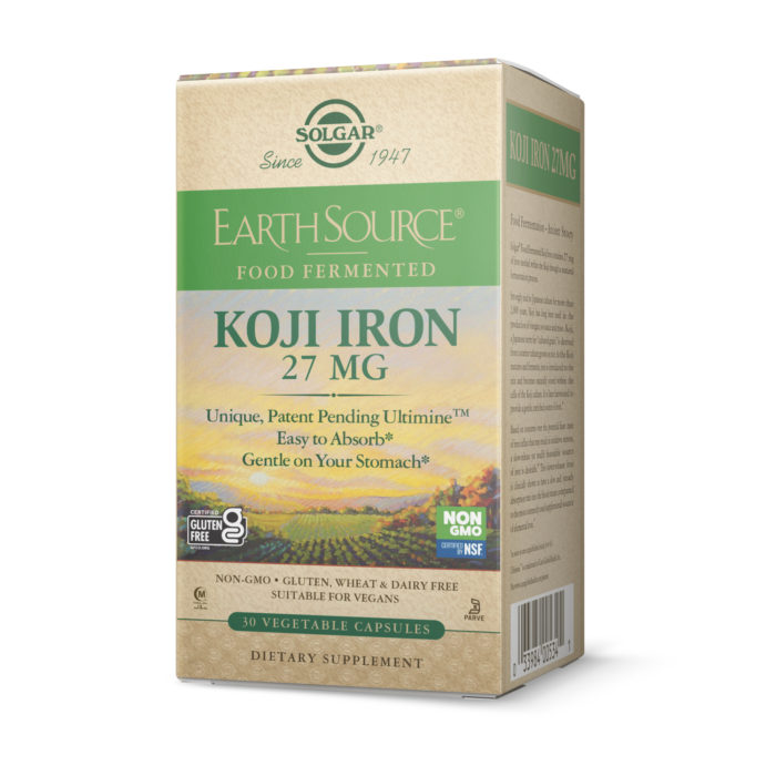 Koji Iron 27 mg Solgar