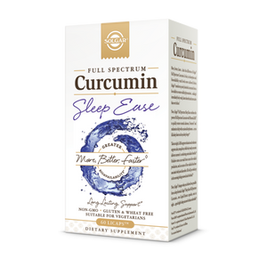Full Spectrum Curcumin Sleep Ease Solgar 60 licaps