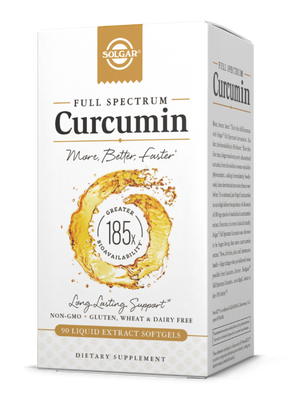 Full Spectrum Curcumin liquid extract softgels Solgar