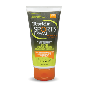 A tube of Topricin My Pain Away® - Sports Cream 6 oz