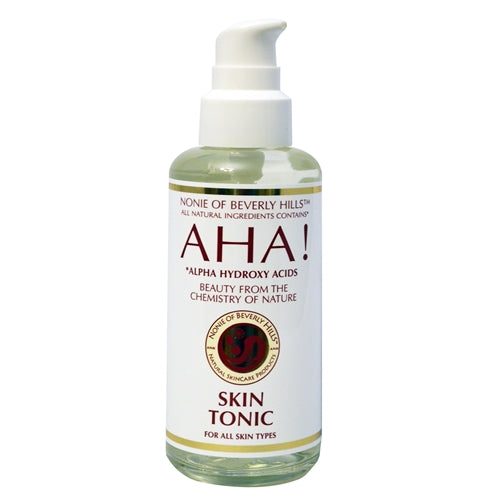 A bottle of AHA! Skin Tonic 7.0 oz - for All Skin Types