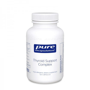 A bottle of Pure Thyroid Support Complex‡