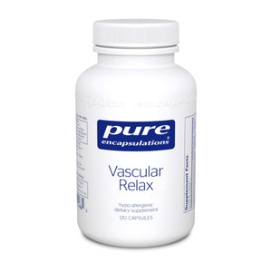 A bottle of Pure Vascular Relax‡