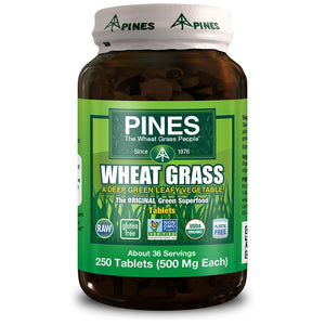 Wheat Grass 500mg 250 tablets