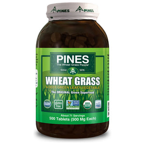 Wheat Grass 500mg 500 tablets