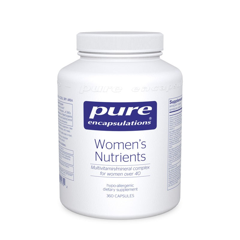 A bottle of Pure Women's Nutrients