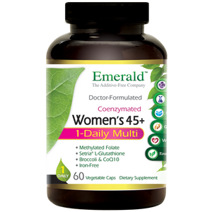 A bottle of Emerald Women's 45+ 1-Daily Multi