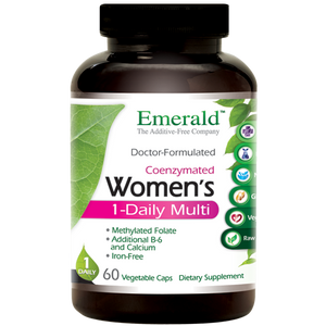 A bottle of Emerald Women's 1-Daily Multi