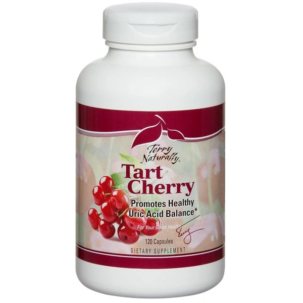 A bottle of Terry Naturally Tart Cherry