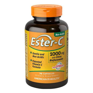 A bottle of American Health Ester-C® 1000 mg with Citrus Bioflavonoids