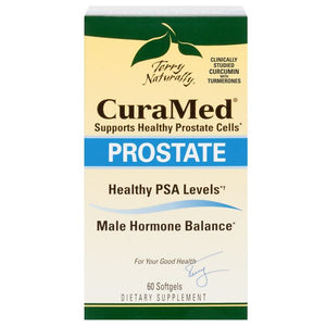 A package of Terry Naturally CuraMed® Prostate