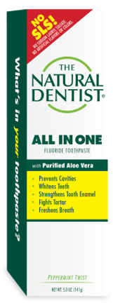 The Natural Dentist All in One Fluoride Toothpaste