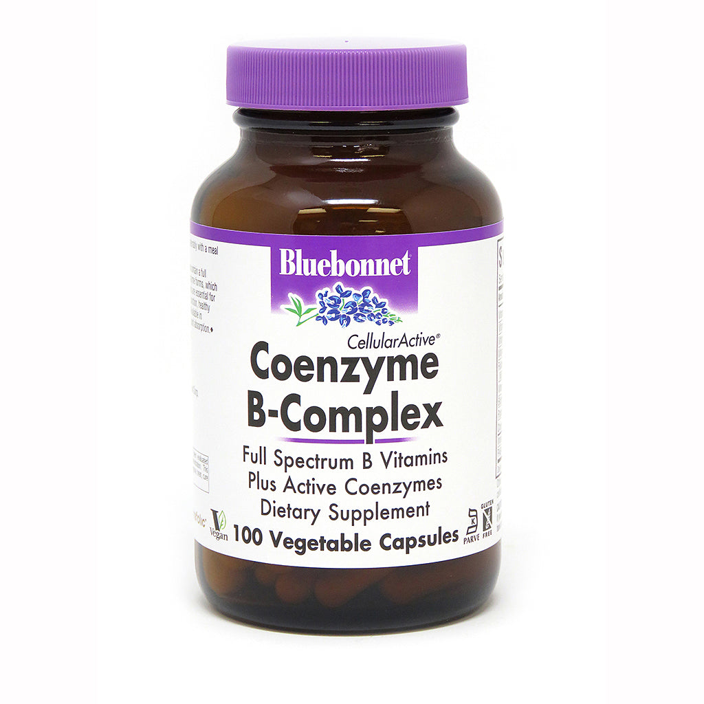 A bottle of Bluebonnet CellularActive® Coenzyme B-Complex