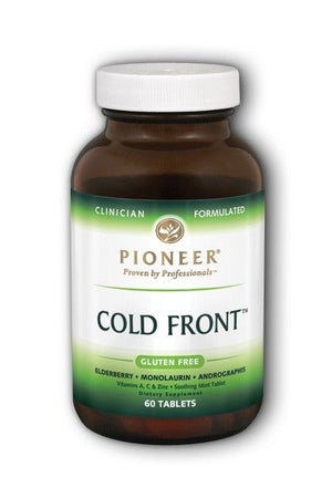 A bottle of Pioneer Cold Front