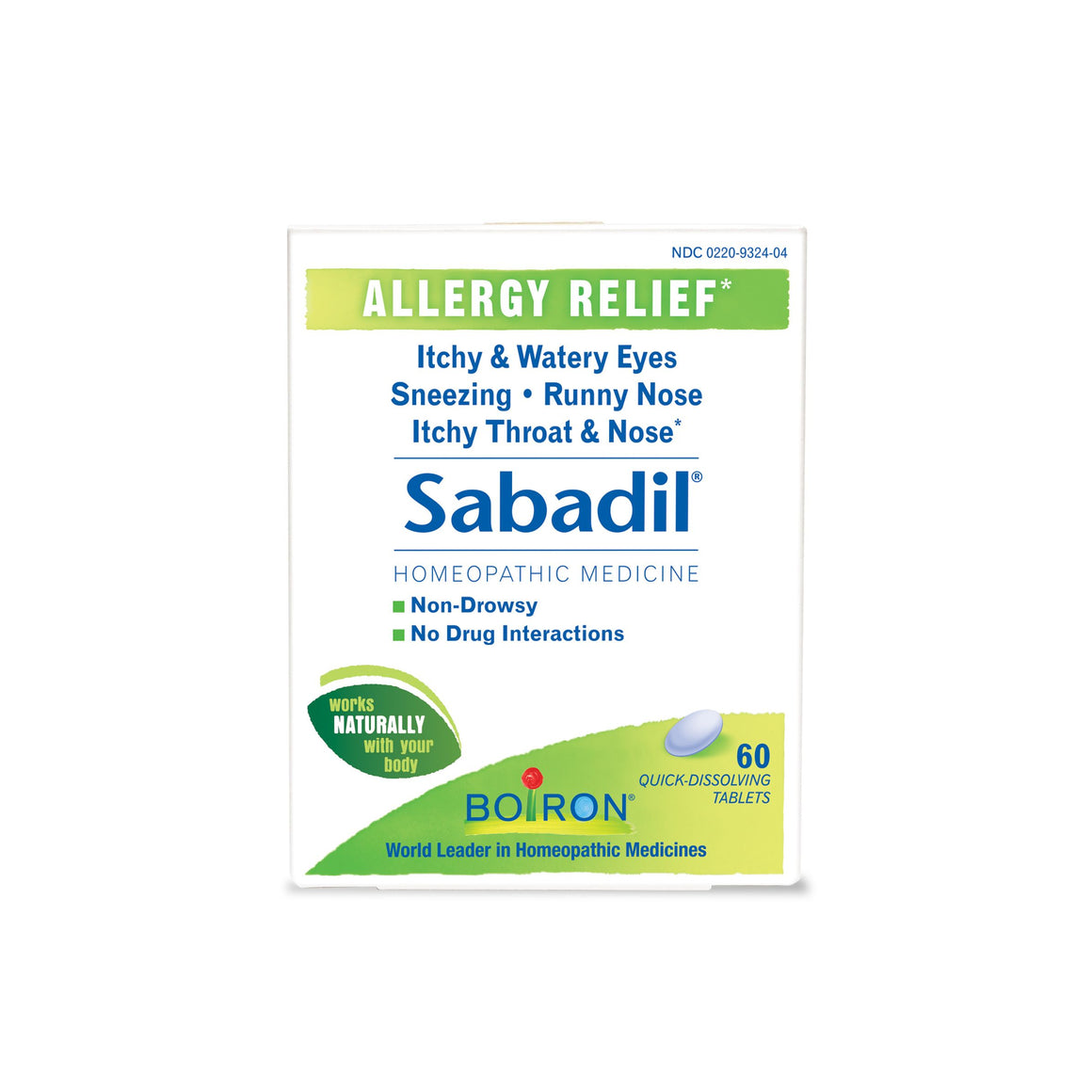 A package of Boiron Sabadil®