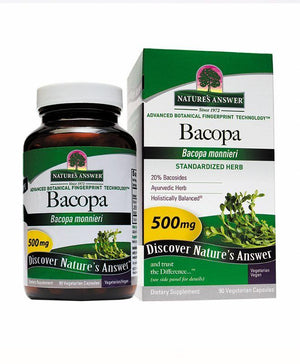 A jar and package for Nature's Answer Bacopa