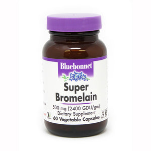 A bottle of Bluebonnet Super Bromelain 500 Mg