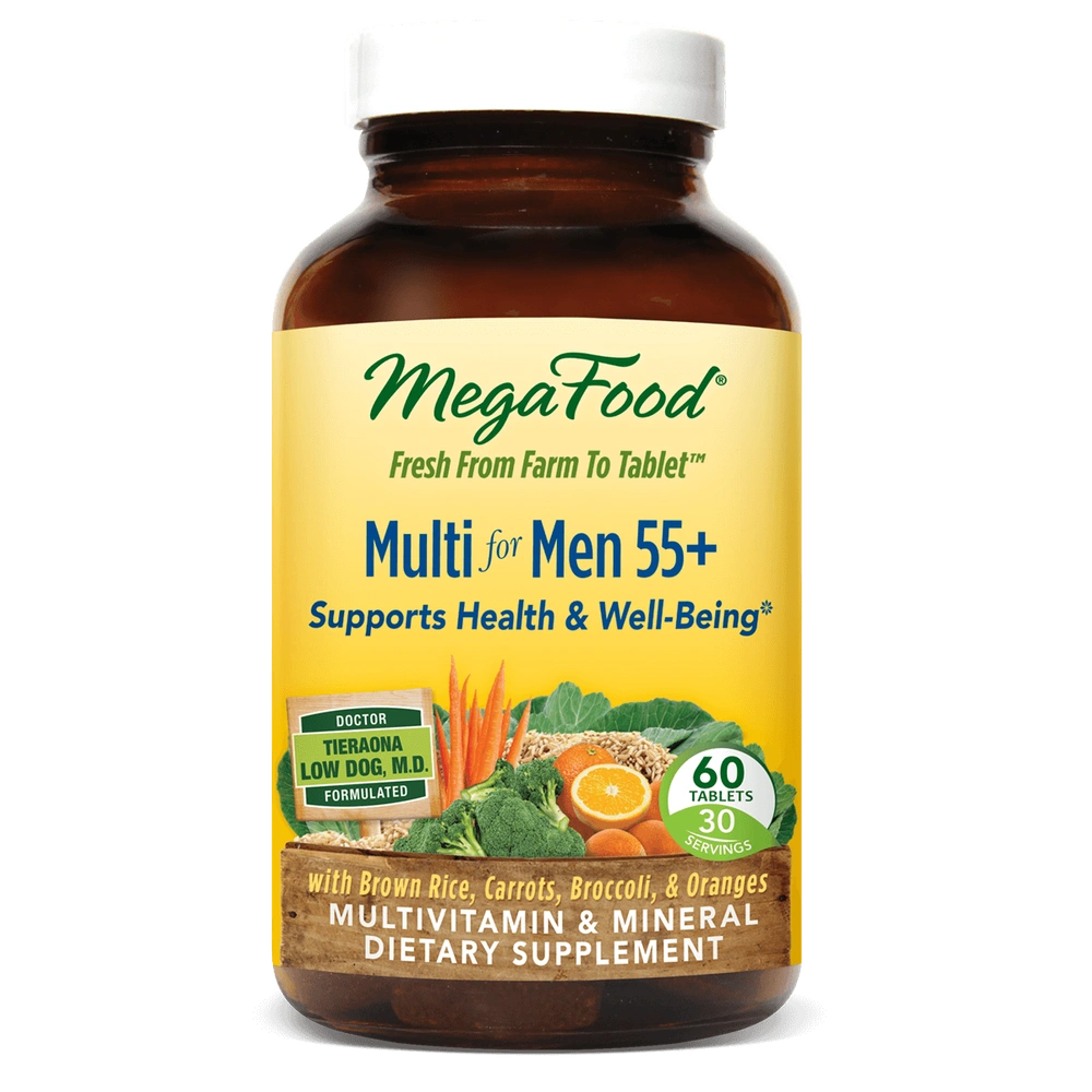 A bottle of Megafood Multi for Men 55+