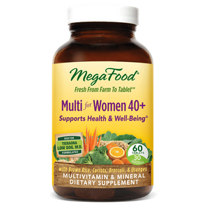 A bottle of Megafood Multi for Women 40+