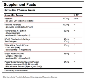 Supplement Facts for Solgar® No. 7