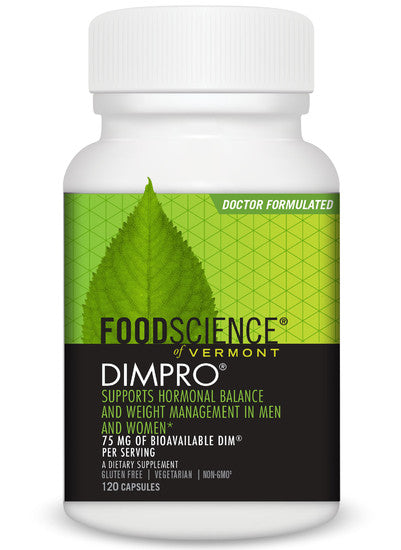 A bottle of Foodscience of Vermont DIMPRO