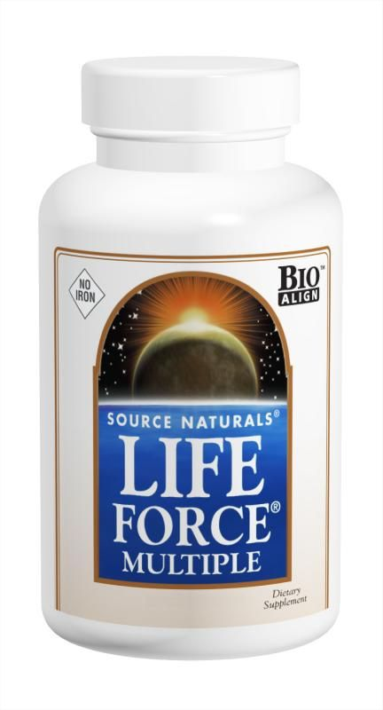 Life Force® Multiple, No Iron