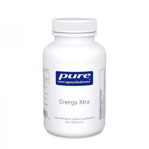 A bottle of Pure Energy Xtra