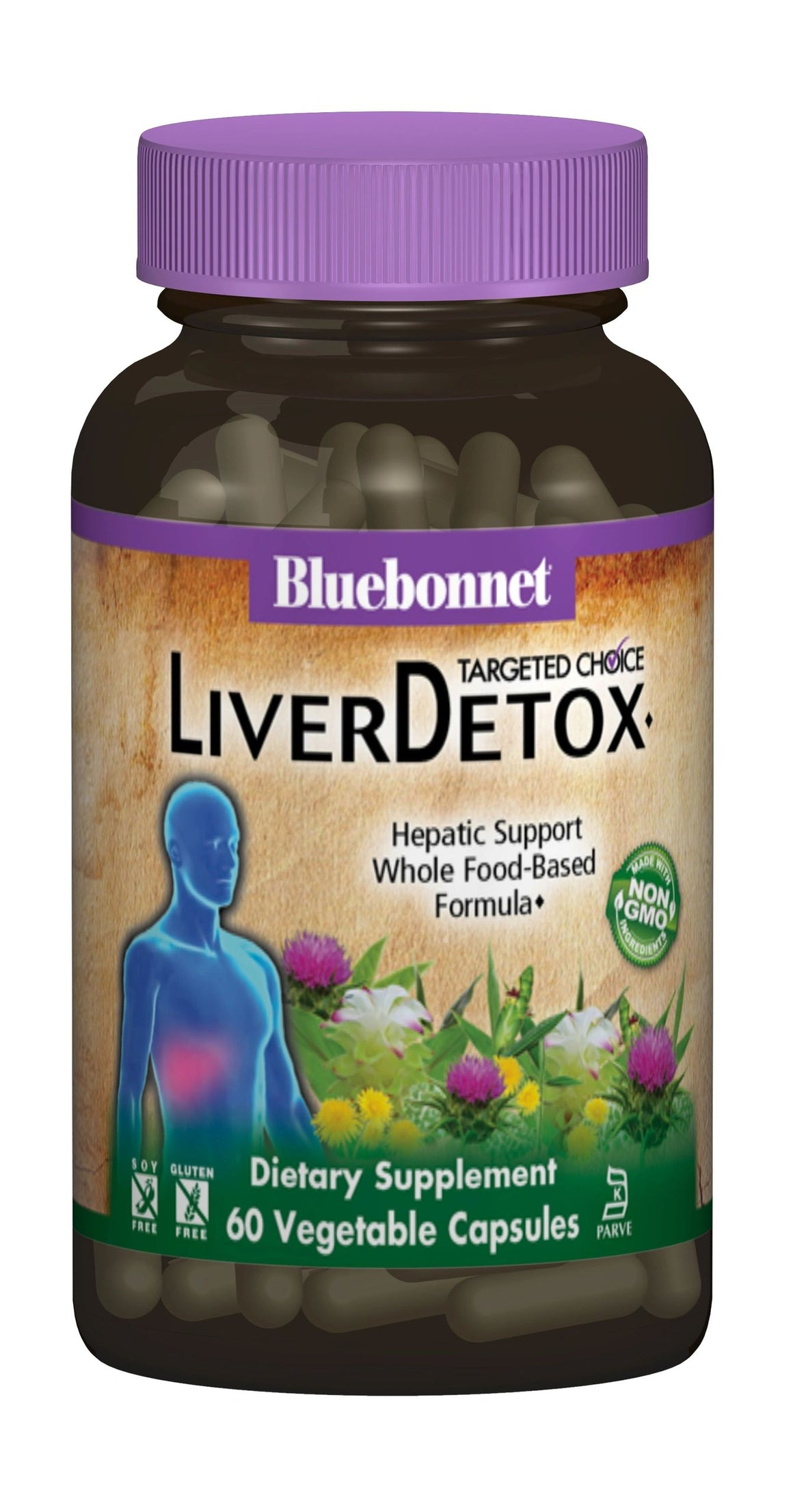A bottle of Bluebonnet Targeted Choice® Liver Detox