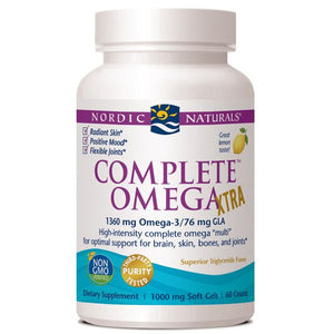 A bottle of Nordic Naturals Complete Omega Xtra