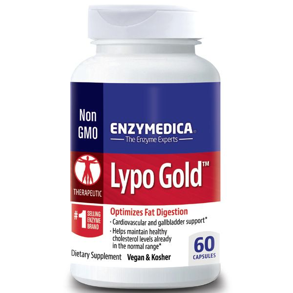 A bottle of Enzymedica Lypo Gold™