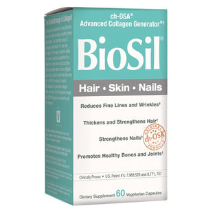 A Package of Natural Factors BioSil® Hair, Skin, Nails