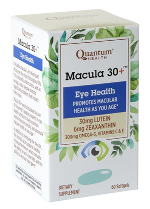 A box of Quantum Health Macula 30 +™